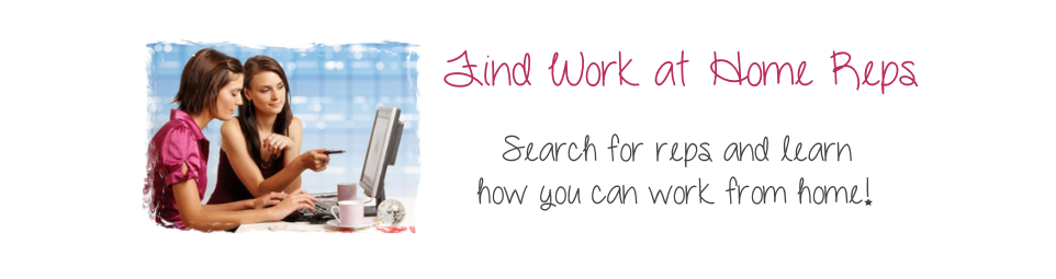 Find Work at Home Reps