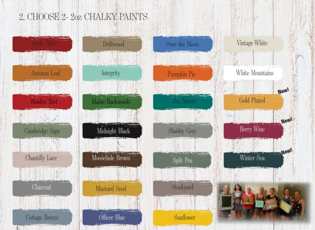 Do you love to Chalky Paint or want to learn and get paid for it?
