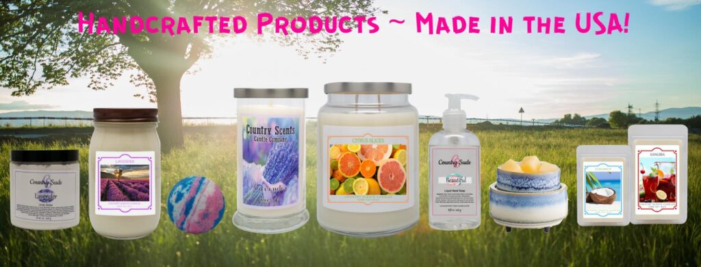 Country Scents Candles is a brand new direct sales business opportunity!